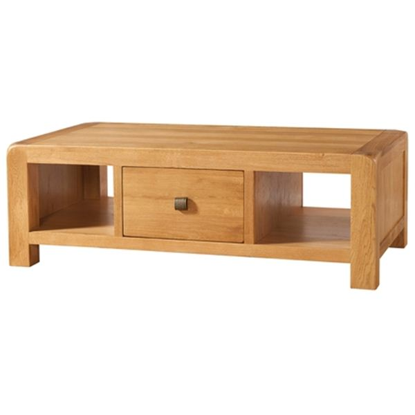 denver large coffee table and drawer