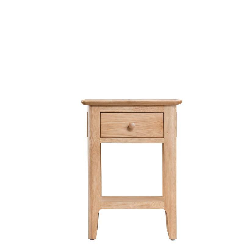 oslo oak side table