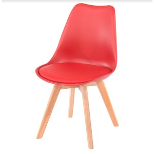 Vail Dining Chair - Red Seat Pad