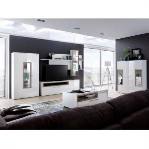 High Gloss Coffee Tables Black White Furniture In Fashion
