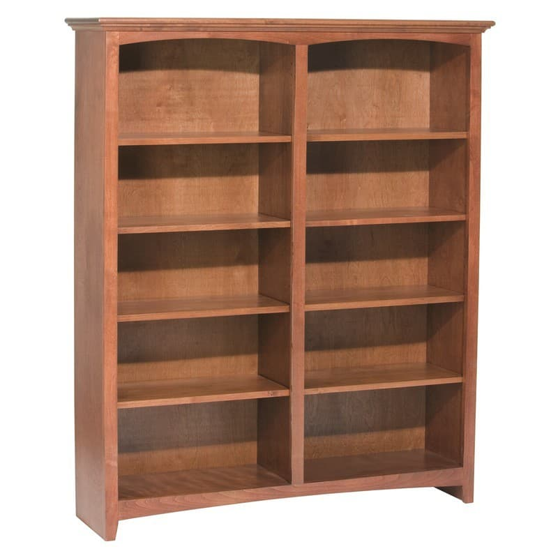The Whittier Wood Bookcase Is 48 Quot Wide With Many Heights