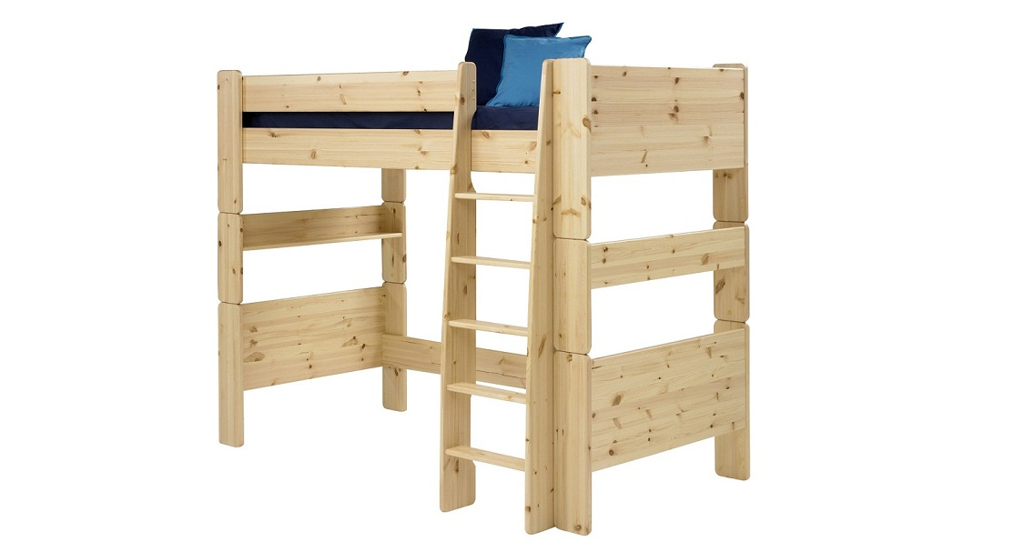 Pine High Sleeper Bed Frame