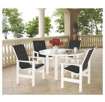marine grade polymer patio chairs