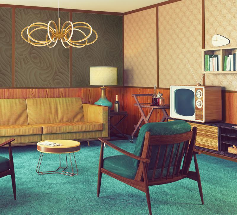 lighting to complement media room decor