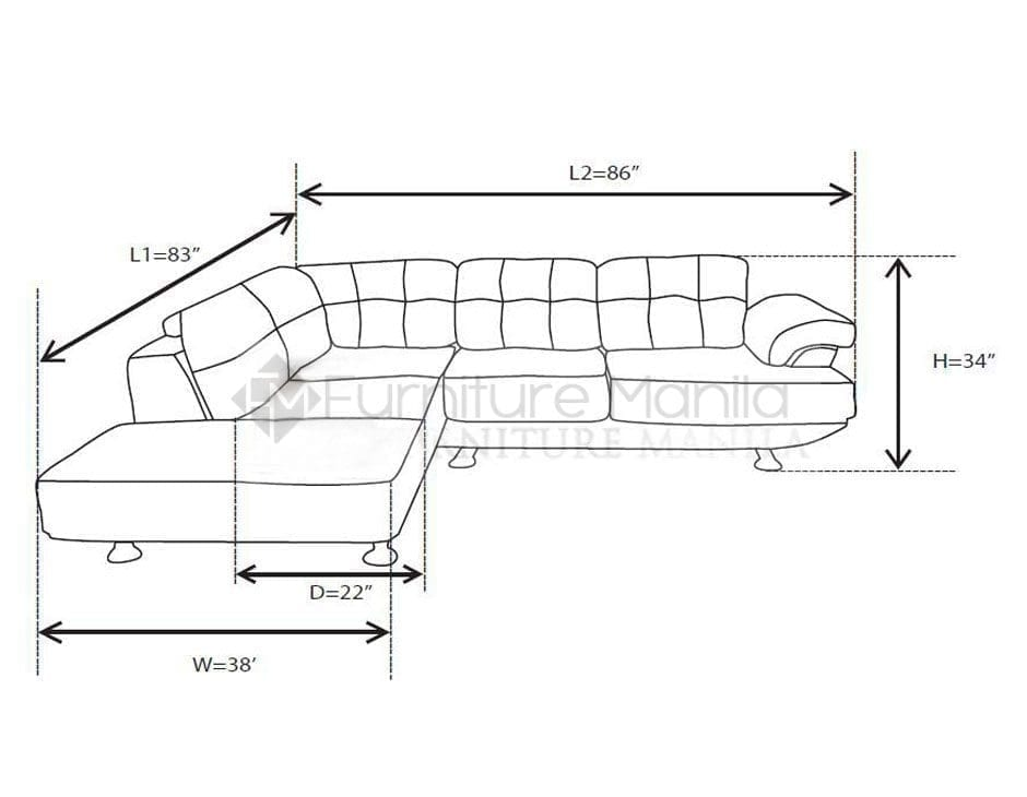 Standard size sofa set functionalitiesnet for Sofa bed dimensions unfolded