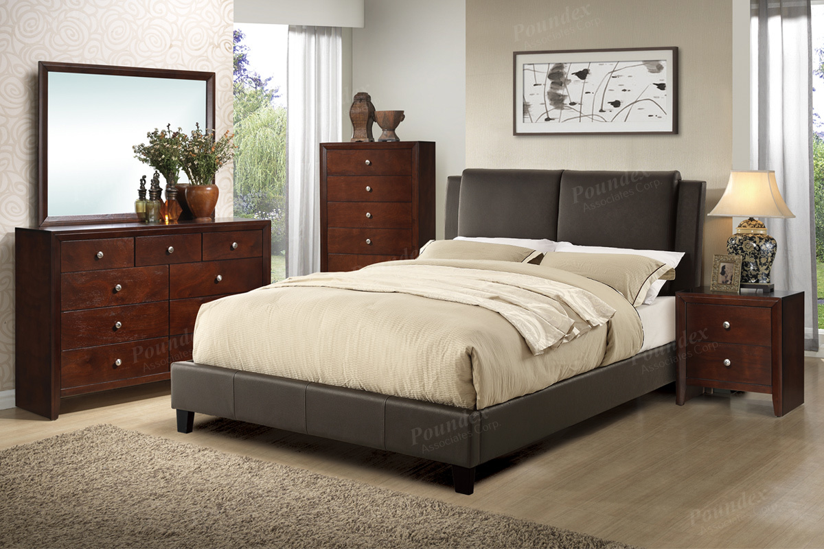 F9336 Queen Bed Frame Furniture Mattress Los Angeles And