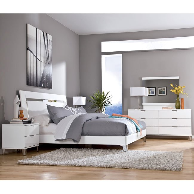 Culverden Bedroom Set w/ Accent Headboard
