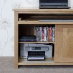Homestyle Opus Solid Oak Hideaway Computer Desk Fully Assembled Furniture Plus Online