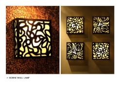 Borne Wall Lamp For Interior Exterior design