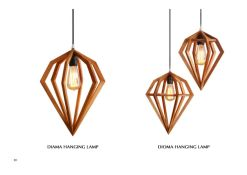 Diama and Dioma Hanging Lamp for hospitality projects