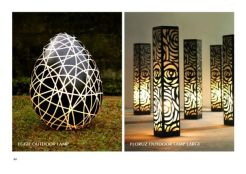 Eggie And Florus Outdoor Lamp Large