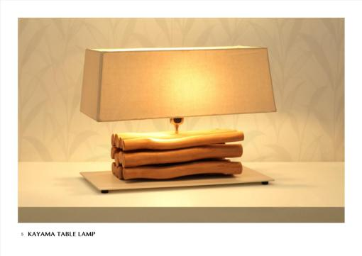 Lighting Decoration for Minimalist Home, Kayama Table Lamp For Indoor Home Decor And Interior Furniture Projects