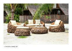 Pataya Living Set Outdoor Furniture Wholesale