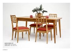 Radio Dining Set Asia Teak Wooden Furniture Wholesale Manufacture For Indoor