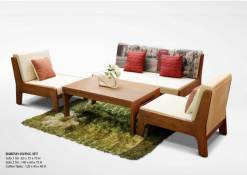 Baresh Wood Furniture Living Sets