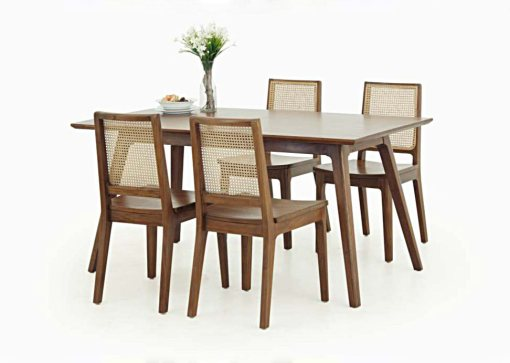 Katina Dining Chair With Malika Dining Table