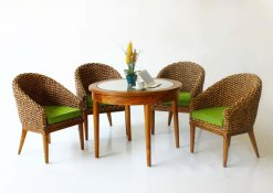 Alberta Dining Set rattan furniture
