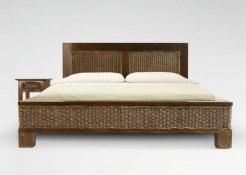 Kaloka Bed Set rattan furniture Indonesian