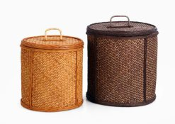 Reema Round Basket Set Of 2