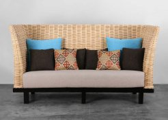 Indonesia rattan furniture, Sashi Sofa 3 Seater