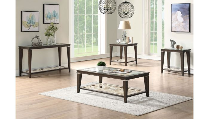 bavol transitional style coffee table