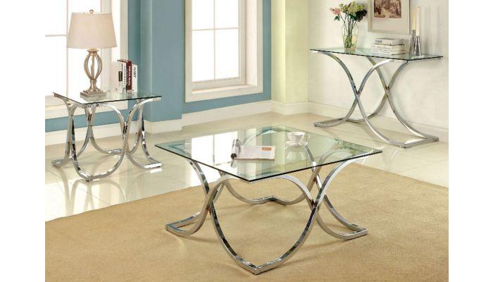 cosma modern square coffee table