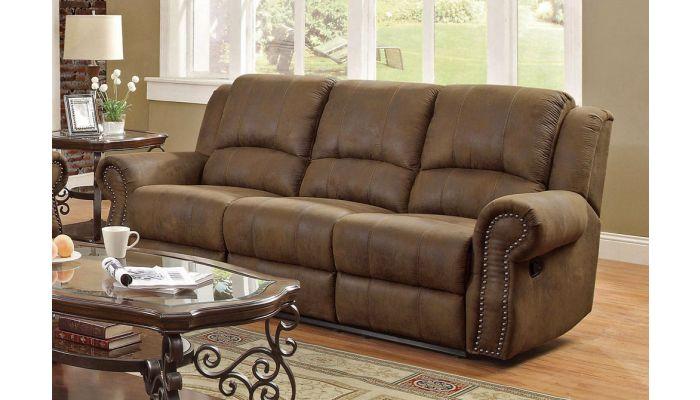 hoyt microfiber recliner sofa