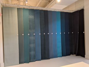 Valdese showroom, 11-2020