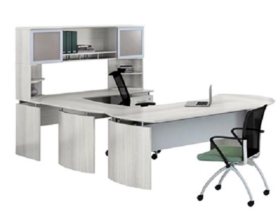 safco mnt31 32 u shaped desk with hutch