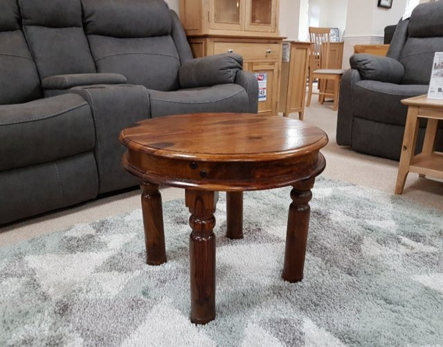 maharajah round coffee table furniture world