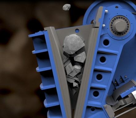 thyssenkrupp<br> Technologie die Steine bricht
