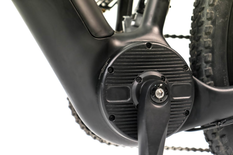 Electric mountain bike mid-motor