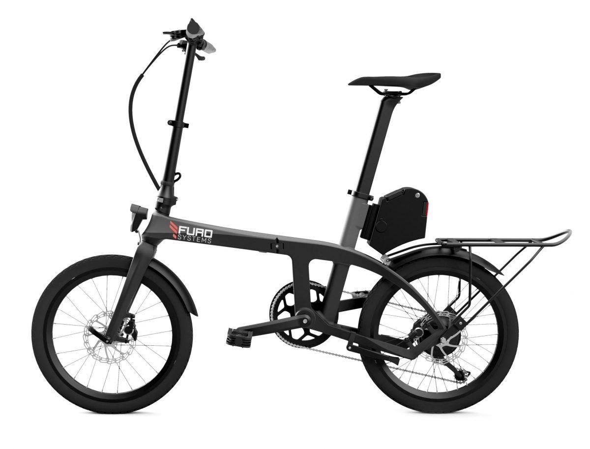 Furo X Folding Carbon Electric Bike