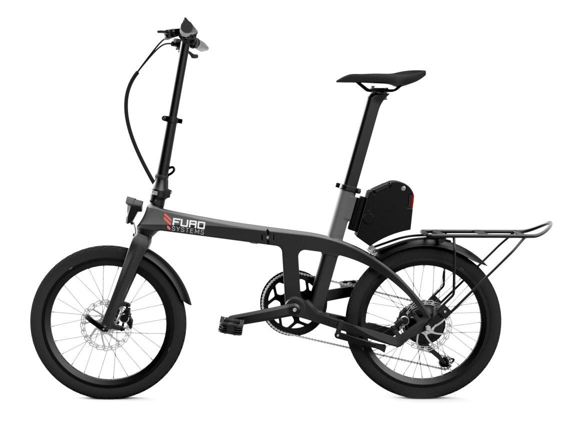 FuroSystems FX Vélo Electrique Pliant avec Accessoires