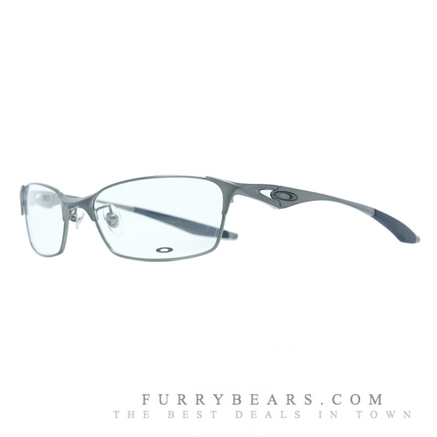 Oakley Bracket 8.1 Polished Chrome Prescription Glasses
