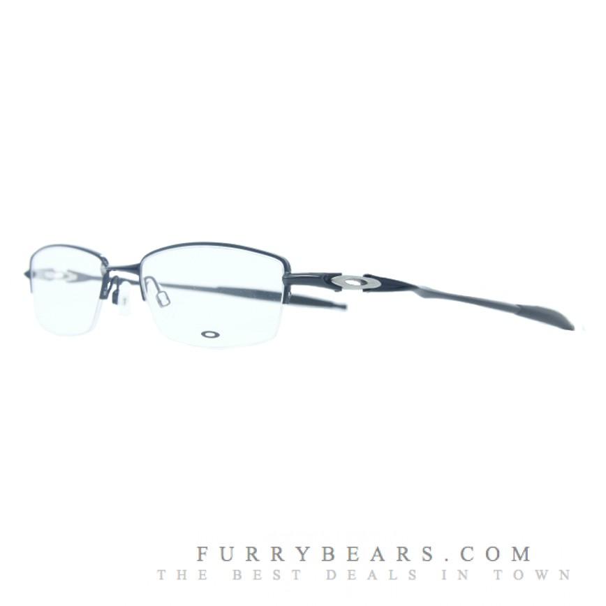 439406169e0ff Oakley Drillbit 0.5 Polished Black Prescription Glasses