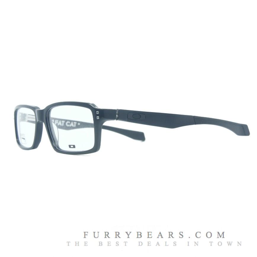 47bae9d771 Oakley Fatcat Polished Black Prescription Glasses