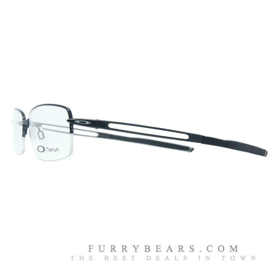 79e931fac7 Oakley Frag Polished Black Prescription Glasses