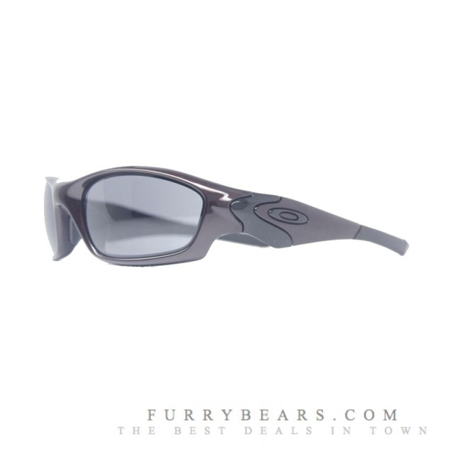 OAKLEY STRAIGHT JACKET (ASIAN FIT) SUNGLASSES – BLOOD & GREY COLOUR - furrybears 2