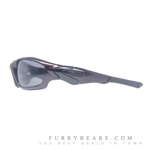 OAKLEY STRAIGHT JACKET (ASIAN FIT) SUNGLASSES – BLOOD & GREY COLOUR - furrybears 3