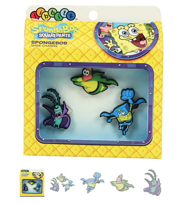 90993200c4dc87 ... Crocs Shoe Charms. SpongeBob Superhero 3-pack
