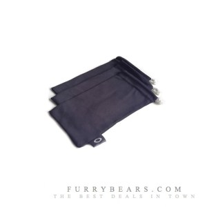 3 oakley MICROCLEAR Cleaning Pouch storage bag