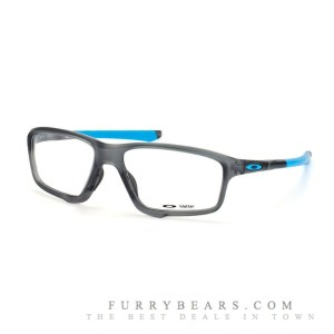 Oakley Crosslink Zero OX 8076 01 satin grey smoke skyblue