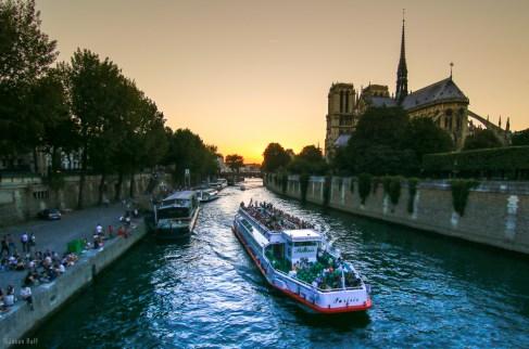 The Île de la Cité, Paris