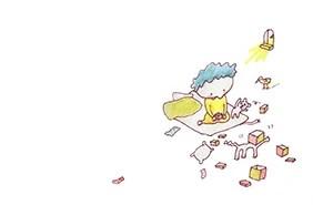 絵本「箱のなかのプレゼント」6ページ目