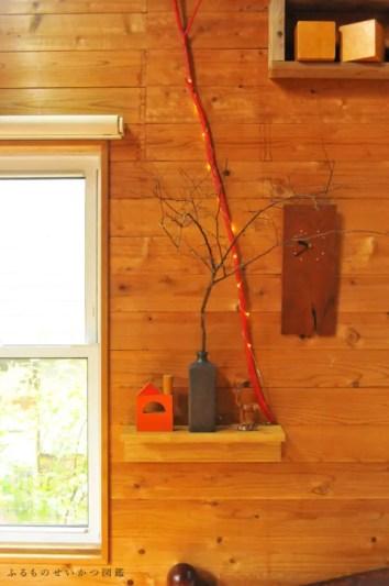 中古道具&古雑貨で壁面を模様替え!