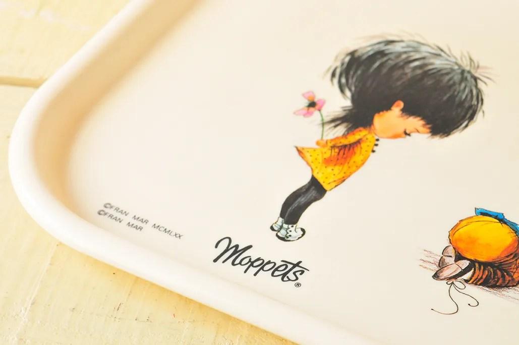 イラストが可愛いフランマーのmoppettsのトレーは夫のお気に入り