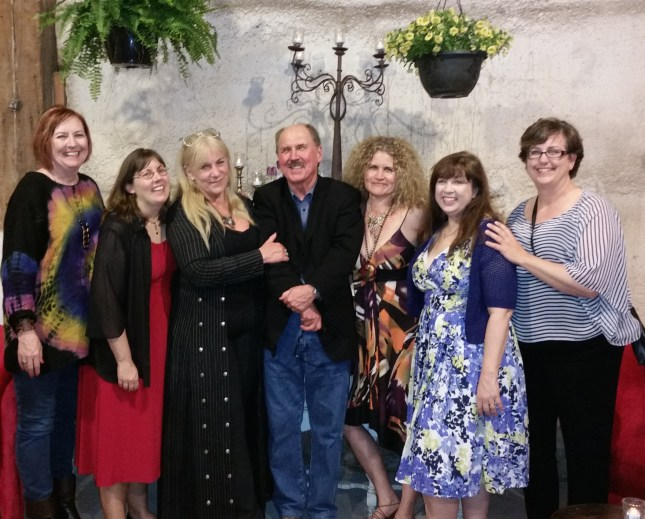 Best-Selling Authors at the Saints of Suspense Party at RT Booklovers Convention