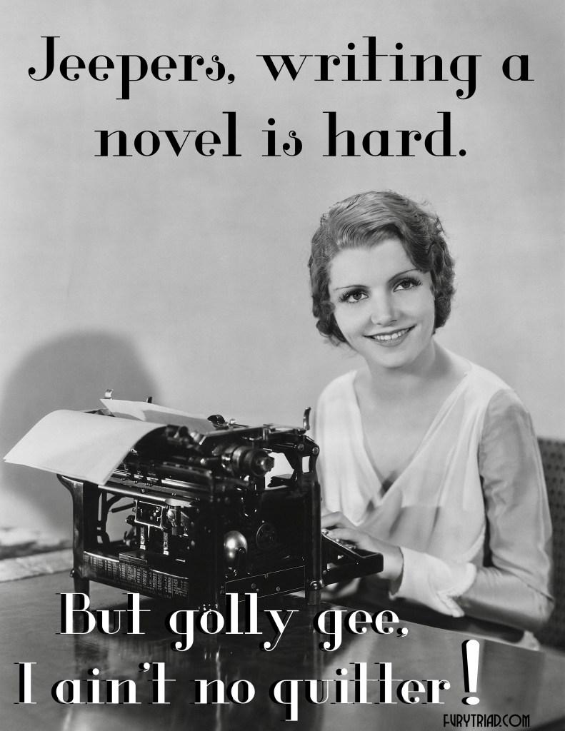 Jeepers! Writing Is Hard! furytriad.com