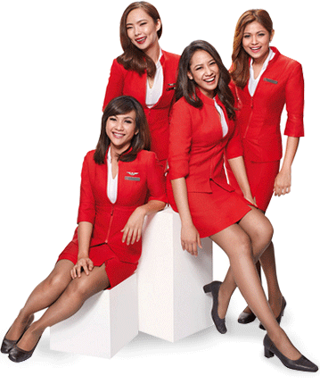 Air Asia's uniform